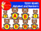 A to Z Alphabet and Numbers Bears and Teddy Bears