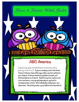 A to Z America (The ABC's of the USA)