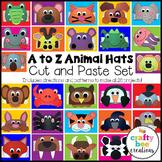 Alphabet Animal Hats Crafts Bundle