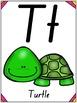 Animal Alphabet Posters - NSW Foundation Font