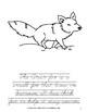 A to Z Animals Coloring Book-Level C
