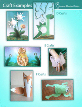 A to Z Arts and Crafts Packet