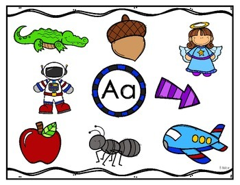 A to Z Beginning Sound Posters