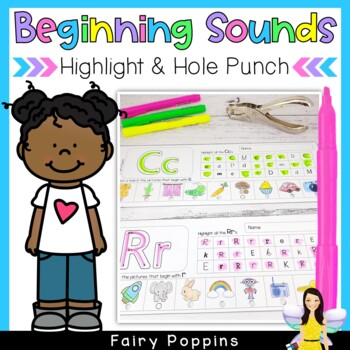 Beginning Sounds - Highlight & Hole Punch