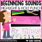 Beginning Sounds - Highlight & Hole Punch
