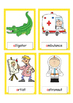 A to Z Beginning sounds Flash Cards