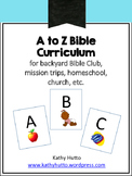 A to Z Bible Curriculum
