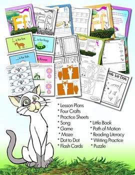 A to Z Bundle of our Letter of the Week Program/Curriculum