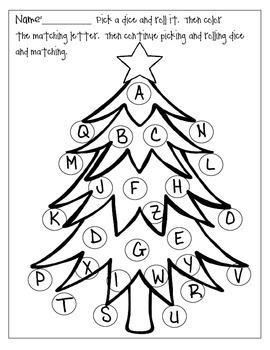 A to Z Christmas Tree
