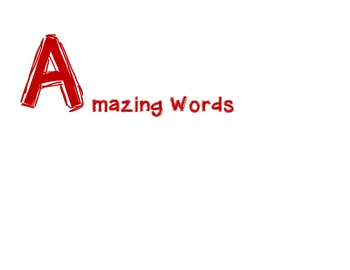 A to Z Class Word Books: An Invitation to Write!