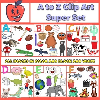 A to Z Clip Art Mega Bundle (Best Deal Yet)