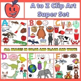 A to Z Clip Art Bundle