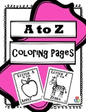 A to Z Coloring Pages