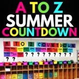 A to Z Countdown