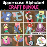 A to Z Uppercase Letter Alphabet Cut and Paste Set