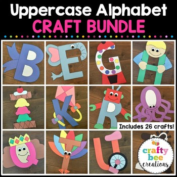 Alphabet Crafts Bundle {Uppercase}