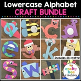 Lowercase A to Z Alphabet Cut and Paste Set