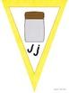 A to Z D'Nealian Alphabet Bunting Pennant Banner Classroom Decor Rainbow Dots