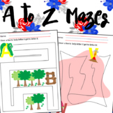 A to Z Easy Mazes