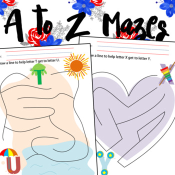 A to Z Easy Mazes