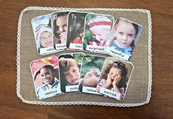 A to Z Emotions and Feelings - ABC Cards