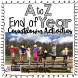 A to Z End of Year Countdown- Daily Activities!