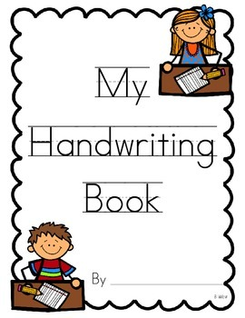 A to Z Handwriting Book