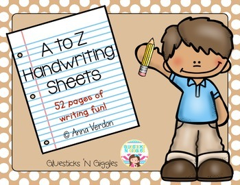 A to Z Handwriting Practice