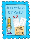 A to Z Handwriting and Phonics Practice for Kindergarten