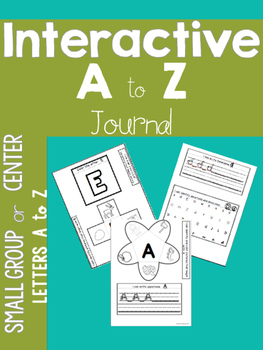A to Z Interactive Notebook Journal