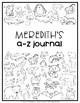 A to Z Journals EDITABLE {Animal Alphabet}