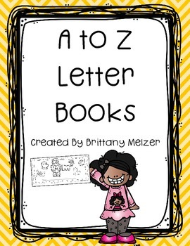 A to Z Letter Books