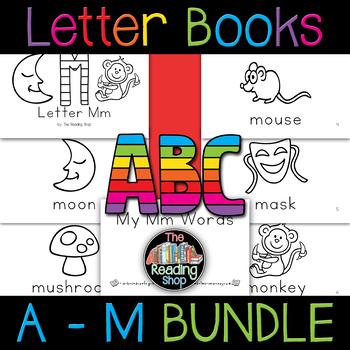 A to Z Letter Books BUNDLE - Alphabet Books