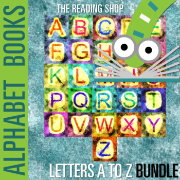 A to Z Letter Books BUNDLE