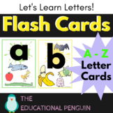 A to Z Letter Flash Cards