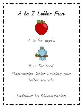 A to Z Letter Fun
