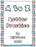 A to Z Letter Practice