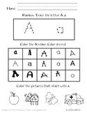 A to Z Letter Practice Freebie