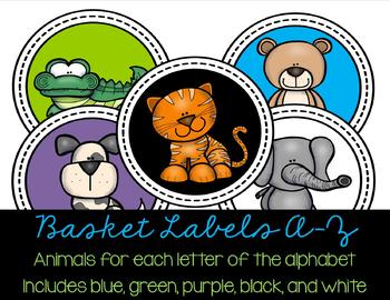 A to Z Leveled Animal Classroom Library Set