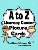 A to Z Literacy Center Picture Cards