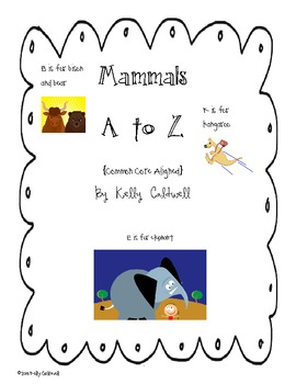 A to Z Mammals {CC Aligned}