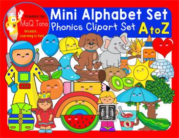 A to Z Mini alphabet beginning sounds