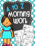 A to Z Morning work