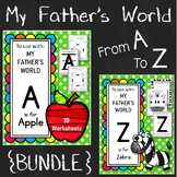 A to Z. My Father's World {BUNDLE}. Alphabet Worksheets