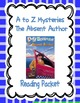 A to Z Mysteries: Absent Author, Bald Bandit, Canary Caper Packets
