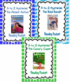 A to Z Mysteries: Absent Author, Bald Bandit, Canary Caper