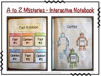 A to Z Mysteries - Activities for any Novel in the Series {Interactive Notebook}
