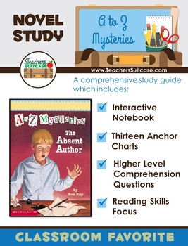 A to Z Mysteries - Activities for any Novel in the Series