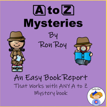 A to Z Mysteries Book Report