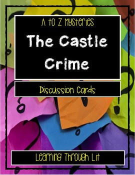 A to Z Mysteries CASTLE CRIMES - Discussion Cards